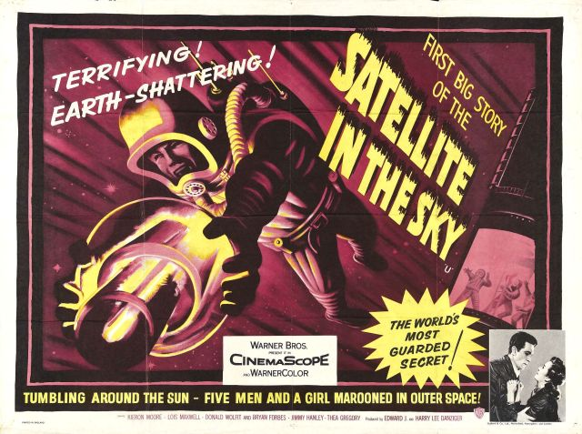 1956 Satellite in the Sky poster 01