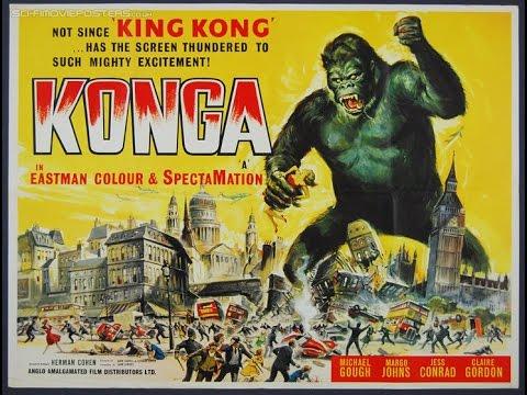 1961 Konga poster 02