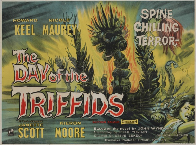 1963 The Day of the Triffids poster 02 - EC