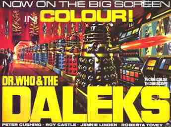 1965 Dr Who and the Daleks poster 01 - TC