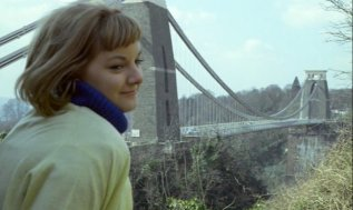 Image 3 Anneke Wills and Suspension Bridge