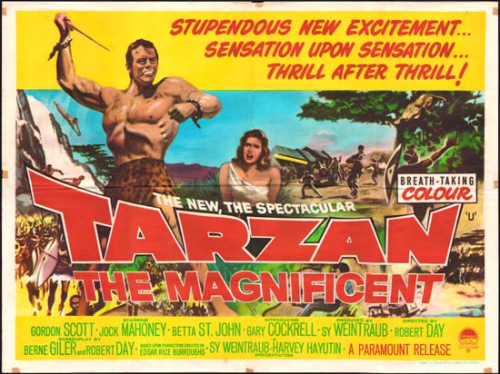 1960 Tarzan the Magnificent poster 01 - Colour