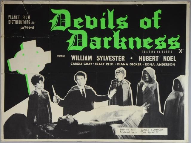 1965 Devils of Darkness poster 01 - EC